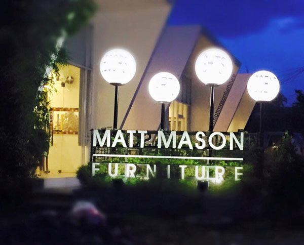 Matt Mason at night